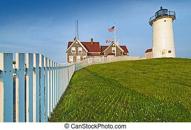 Woodshole lighthouse