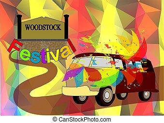 woodstock, fond