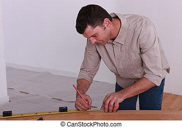 woodworker, tomar medidas