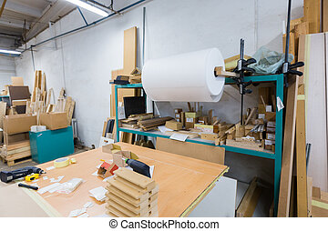 woodworking factory packing shop