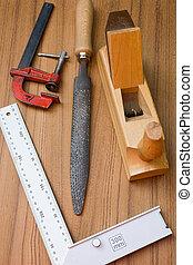 woodworking, gereedschap