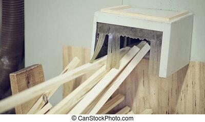 woodworking machinery nobody board process