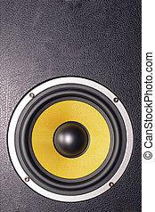 Woofer Loudspeaker Yellow