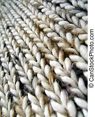 Wool infinity perspective pattern