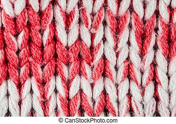 wool knitted background closeup