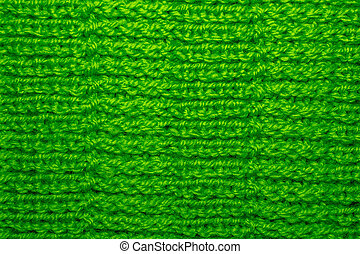Wool Knitted Pattern. Closeup Fabric Background