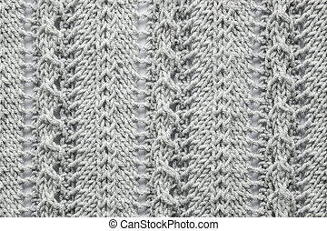 wool knitted white background with texture