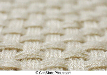 Wool weave Fabric texture pattern closeup Abstract background