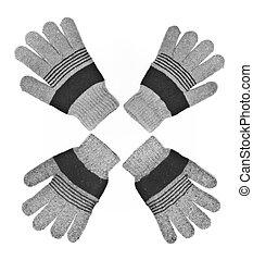 gloves - woolen gloves