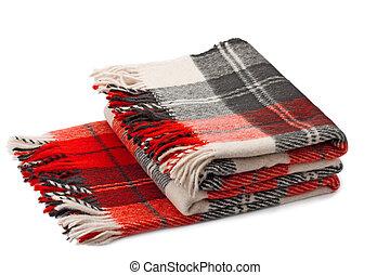 woolen, plaid
