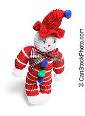 Woollen Toy Clown