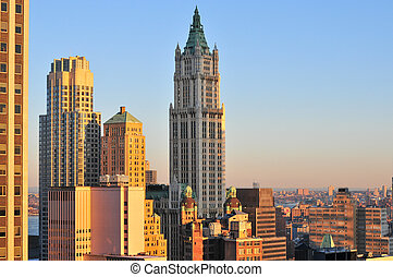 woolworth の建物, -, ニューヨーク市