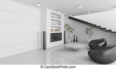 woonkamer, interieur