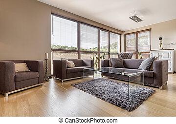 woonkamer, meubel