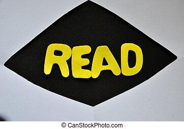 woord, lezen