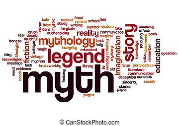 woord, mythe, wolk
