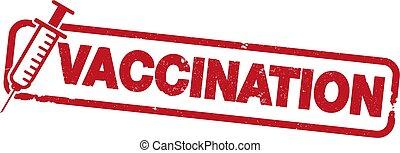 woord, postzegel, inenting, rubber, afdrukken, spuit, rood,...