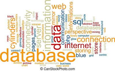 woord, wolk, databank