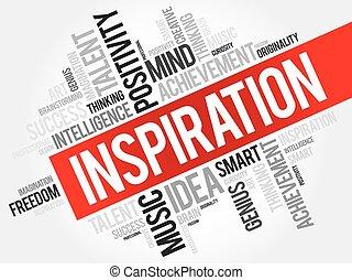 woord, wolk, inspiratie