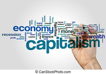 woord, wolk, kapitalisme