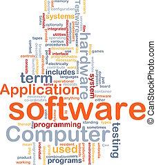 woord, wolk, software