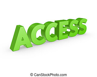 Word ACCESS.