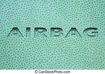 Word Airbag Car interior