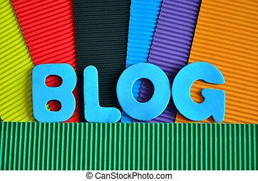 blog - word blog