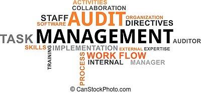 word cloud - audit management