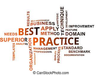 word cloud - best practice - A word cloud of best practice ...