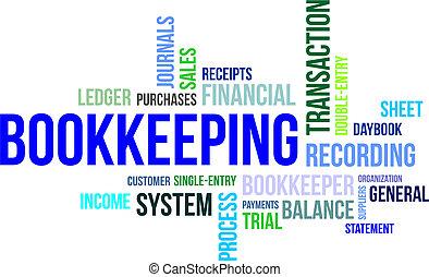 word cloud - bookkeeping - A word cloud of bookkeeping...