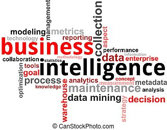 word cloud - business intelligence - A word cloud of ...