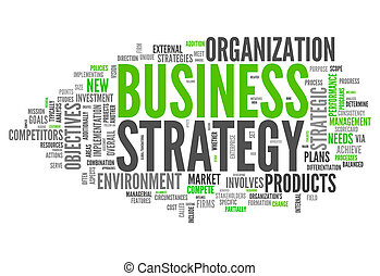 Word Cloud Business Strategy - Word Cloud with Business...
