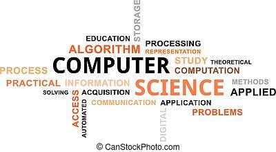 word cloud - computer science