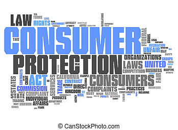 Word Cloud Consumer Protection - Word Cloud with Consumer...