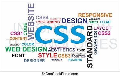 Word cloud - CSS