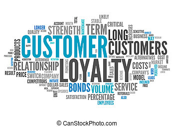 Word Cloud Customer Loyalty - Word Cloud with Customer ...