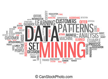 Word Cloud Data Mining - Word Cloud with Data Mining related...