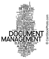 Word Cloud Document Management