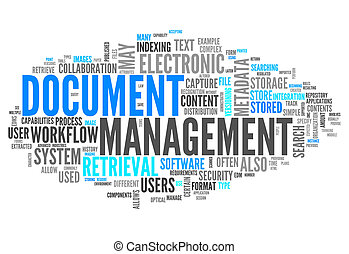 Word Cloud Document Management - Word Cloud with Document...