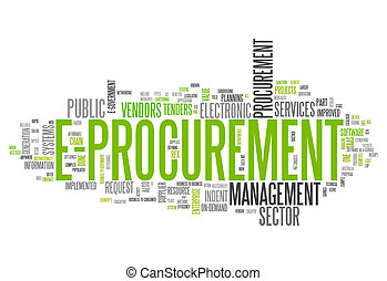 Word Cloud E-Procurement - Word Cloud with E-Procurement...