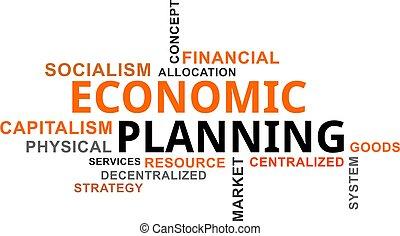 word cloud - economic planning
