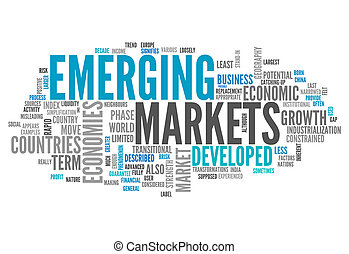Word Cloud Emerging Markets - Word Cloud with Emerging ...