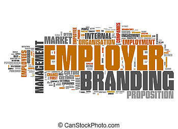 Word Cloud Employer Branding - Word Cloud with Employer...
