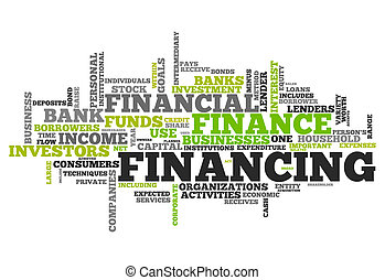 Word Cloud Financing