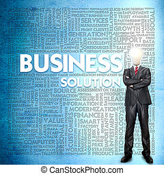 Word cloud for business concept
