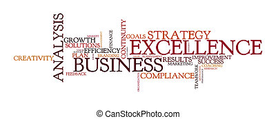 word cloud for business