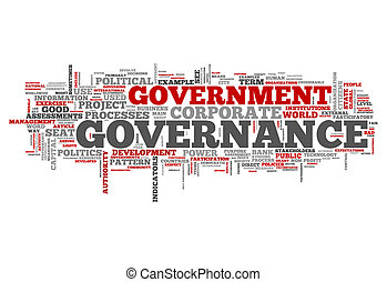 Word Cloud Governance - Word Cloud with Governance related...