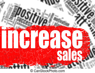 Word cloud increase sales