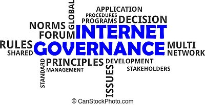 word cloud - internet governance - A word cloud of internet...